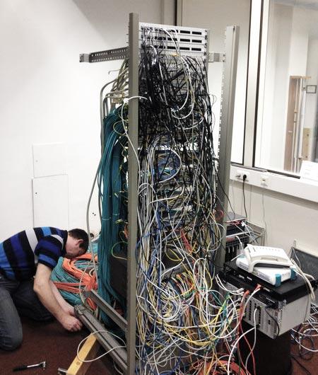 Serverraum Chaos