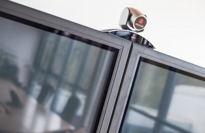 Kamera auf Bildschirm
