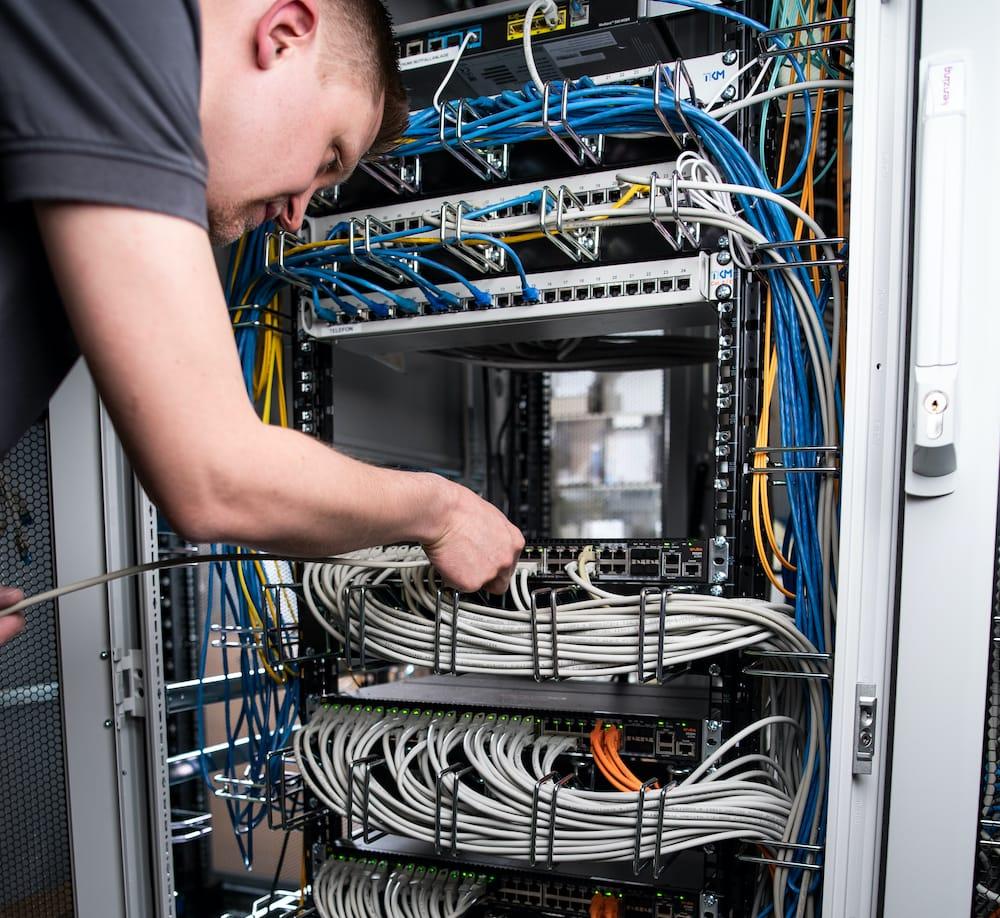 Ertüchtigung des LAN und WLAN in den Segeberger Kliniken Vorgehen