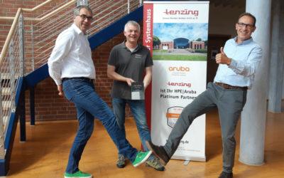Aruba Platinum Partnerschaft von tenzing