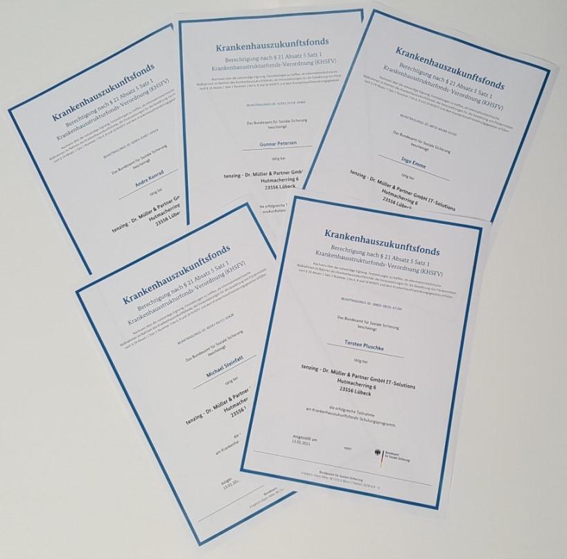 Zertifikate Krankenhauszukunftsfonds_tenzing