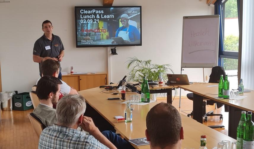 Aruba ClearPass Lunch & Learn 02.09.21