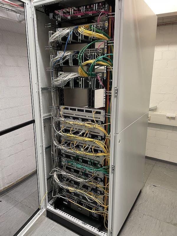 Serverraum Optimierung - Nacher